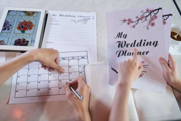 wedding planning guide and timeline