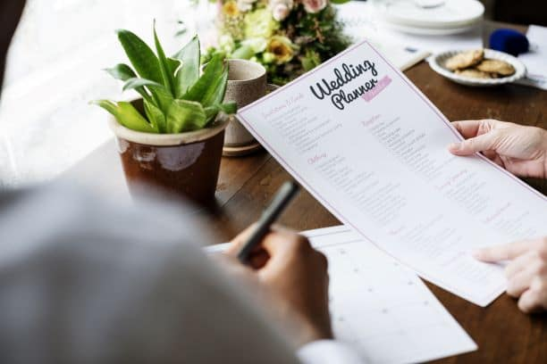 planning your wedding