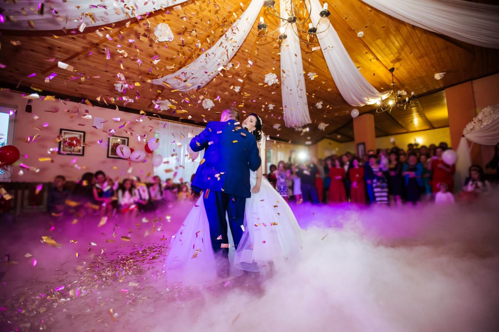English Wedding Traditions first dance