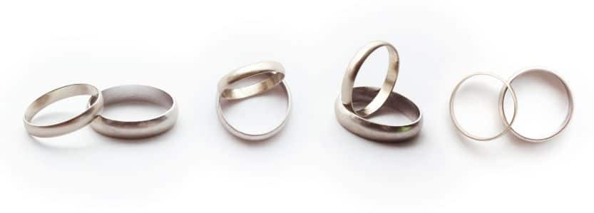 wedding ring finish