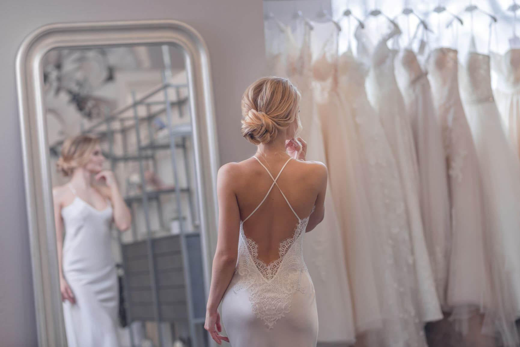 choosing what to wear under your weddig dress