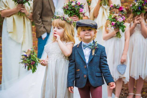 kids on your wedding guest list
